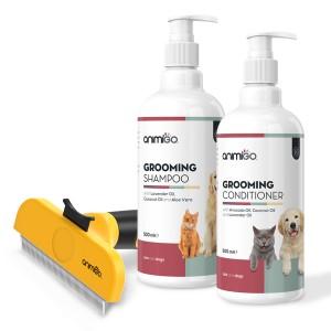 Combo Pelo Perfetto | Set con detergenti e dispositivi per il bagnetto degli animali domestici