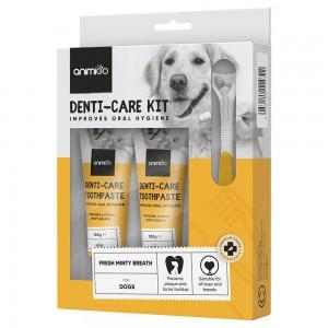 Denti-Care Dentifricio - Dentifricio Commestibile Per Gatti e Cani  - Animigo - 70g Tube
