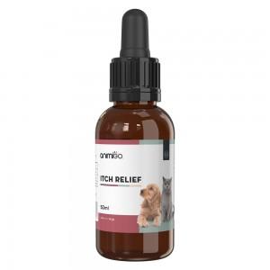 Sollievo al Prurito per Cani e Gatti - Integratore Anti Allergie - Flacone da 50ml